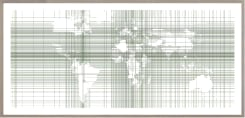 Annesas Appel, View on the world map 01-03 | Centre