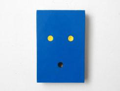 Stefan Gritsch, Self Portrait no. 14.  [ CAT BLUE ]