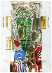 Marijn van Kreij, Untitled (Picasso, L'Atelier, 1955, Snow Butter)