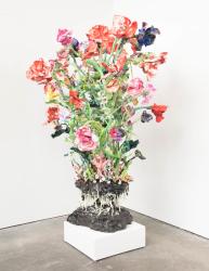 Stefan Gross, Stranger Flowers - Green