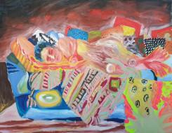 Tanja Ritterbex, ich hab gluck ich darf auf der couch schlafen