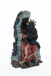 Carolein Smit, Black Madonna with Child