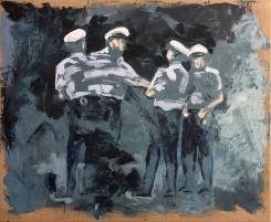 Daan den Houter, Police