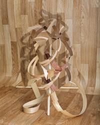 Nico Krijno, Veneer Wood Wood 1