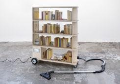 Frank Halmans, Boekenkast Stofzuiger (Vanitas)
