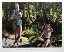 "Muntean/Rosenblum, Untitled (""Theories are dreams…"")"