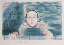 "Muntean/Rosenblum, Untitled (""A world without…"")"