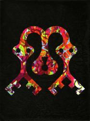 Ryan McGinness, Blackout (Snakes Heart Lock)