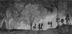 Hans Op de Beeck, The Night Walkers (4)