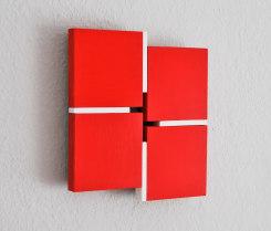 Tineke Porck, Shifts 332020, 4-parts red-white