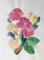 Eva Räder, child rose