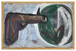 Martin Disler, untitled (Revolver)