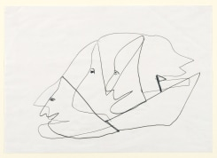 Martin Disler, untitled