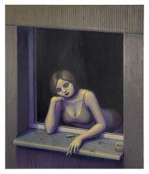 Michael Kirkham, Frau am Fenster