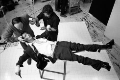 Brian Duffy, David Bowie, Lodger Set Build, London, England