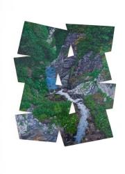 Jaap van den Ende, rotsen, waterval, methodische basisvorm