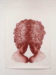 Petra Morenzi, Twins with Intertwining Curls