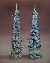 Hidenori Mitsue, Stacked obelisk