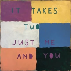 Kim van Norren, It takes two just me and you