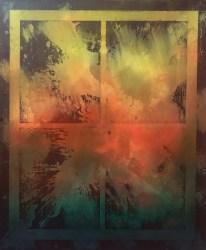 Roger Wardin, Window Sunset I
