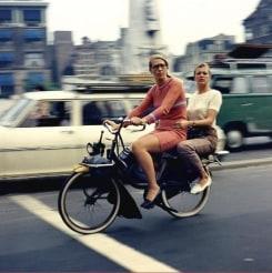 Eddy Posthuma de Boer, Two Ladies on a Bike