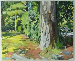 Jim Harris, Tree, car, chair