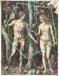 Laurence Aëgerter, Adam and Eve (Dürer)
