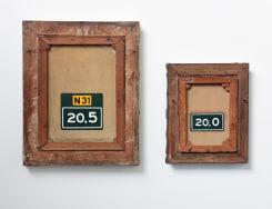 Anna Lange, 'Blind Spot : N31' & 'Blind Spot : 20,O'