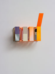 Nahum Tevet, Time after Time #15 (with orange)