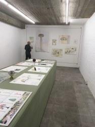 Voebe de Gruyter, tentoonstelling in Loods 12, Wetteren, België