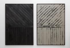 Davide Balula, Burnt Painting (\-I) - Imprint of the Burnt Painting (/-I)