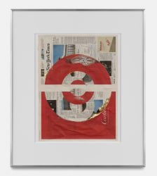Walead Beshty, Blind Collage (Three 180° Rotations, The NY Times International Edition...)