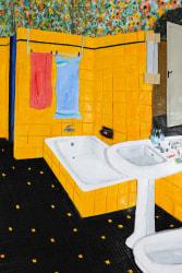 Victor Delestre, Bathroom in Oloron-Sainte-Marie (to Jean-Baptiste and Simone)