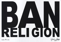 Gilbert & George, Ban Religion
