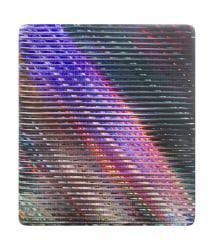 Rob Bouwman, Untitled p0342020 30x28cm oil/alkyd wood. 2020