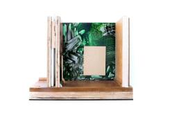Rob Bouwman, Untitled 37x44x28cm oil/alkyd wood