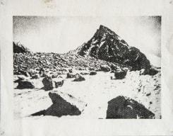 Douglas Mandry, Piz Bernina II, from the series «Monuments»