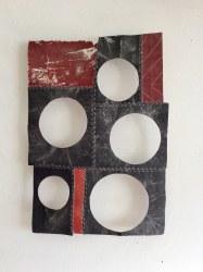 Marian Bijlenga, Schuurpapier collage