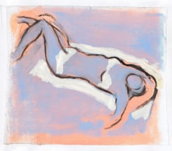 Cathalijn Wouters, Reclining Blue Nude