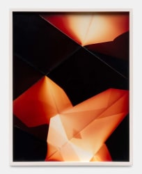 Walead Beshty, Three Sided Picture (YRM), January 11, 2007, Santa Clarita, California, Fuj