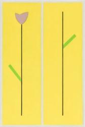 Jan Roeland, Compositie met bloem en tak