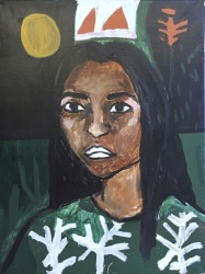 Shirley Villavicencio Pizango, Dawn at Night
