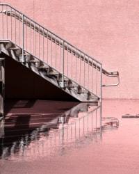 Anastasia Samoylova, Staircase at King Tide, Hollywood, Florida
