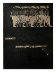 Guy Vording, Black Pages - How men walk with art
