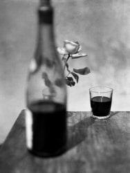 René Groebli, Red wine, The Eye of Love, Paris