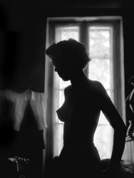 René Groebli, Silhouette, The Eye of Love, Paris