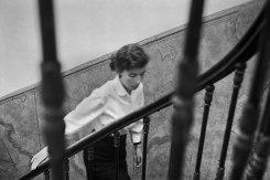 René Groebli, Rita on  the staircase, The Eye of Love, Paris
