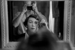 René Groebli, René photographing his wife, The Eye of Love, Paris
