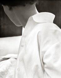 René Groebli, White blouse, The Eye of Love, Paris