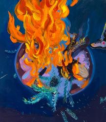 Elise Debrock, Fire, Vuurkorf Bram Schoen